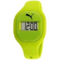 Puma Fuse Grey Dial Silicone Strap Unisex Watch Pu910921001