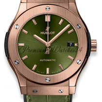 Hublot Rose gold Automatic Green No numerals 45mm new Classic Fusion 45, 42, 38, 33 mm