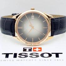 Tissot Ouro rosa Quartzo Cinzento Sem números 40mm novo