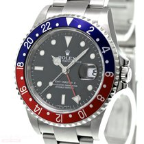 Rolex GMT-Master II Stick Dial Ref-16710 Stainless Steel Box...