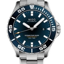 Mido Ocean Star Ocel 43,5mm Černá