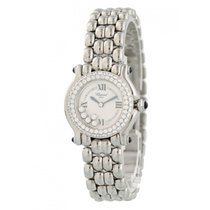 Chopard pre-owned Quartz 25mm White Sapphire Glass