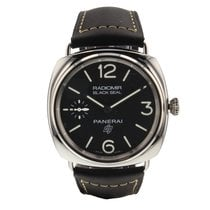Panerai Radiomir Black Seal new Manual winding Watch with original box and original papers PAM00754