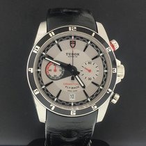 Tudor Grantour Chrono Fly-Back Steel 42mm Grey No numerals United States of America, New York, New York