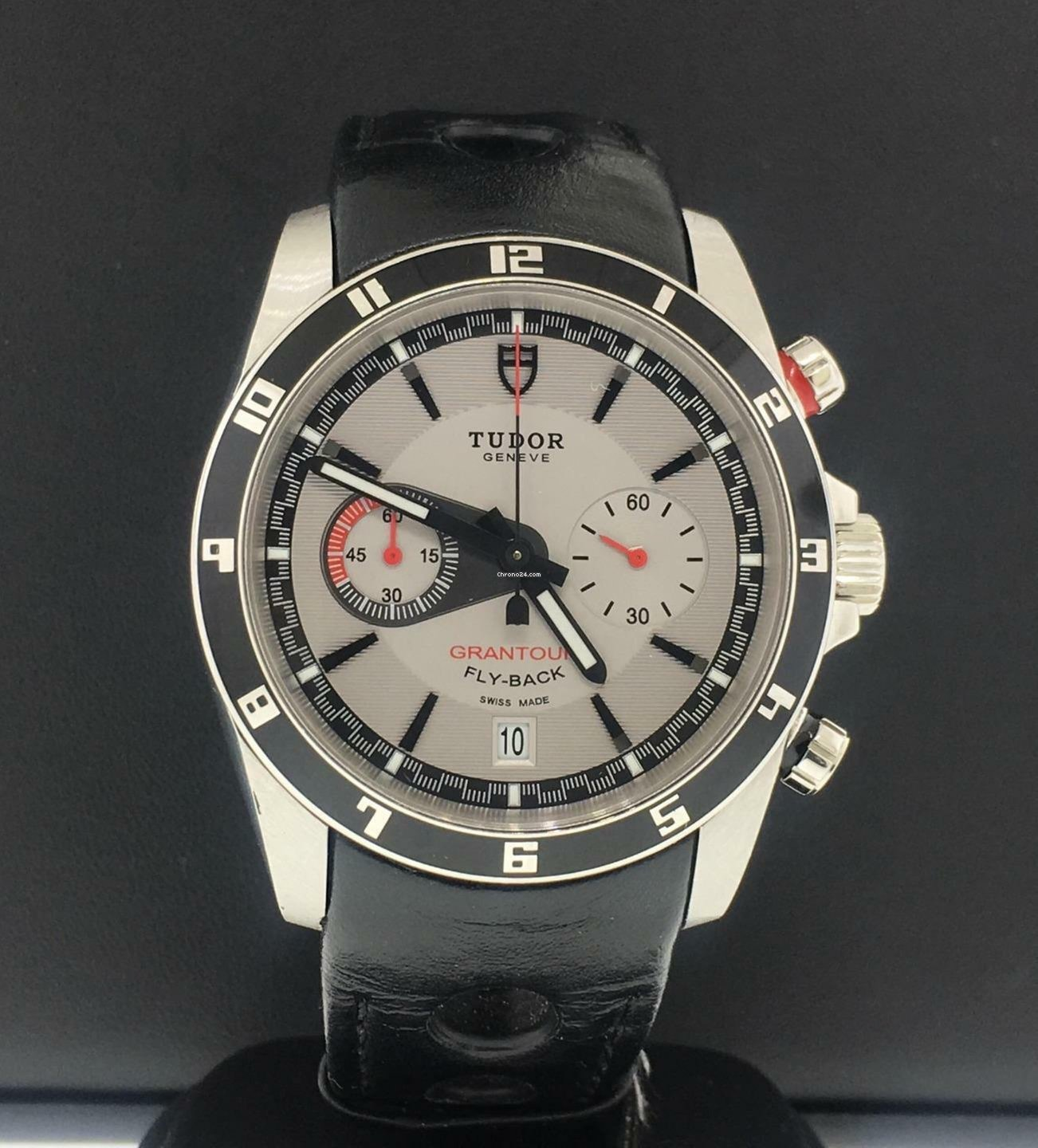 b3753e99a30 Tudor Grantour Chrono Fly-Back Mens 42mm Stainless Steel Ref.... for Php  156,429 for sale from a Trusted Seller on Chrono24