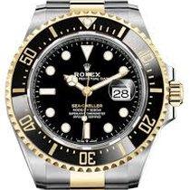 Rolex Sea-Dweller Gold/Steel 43mm Black No numerals UAE, Dubai