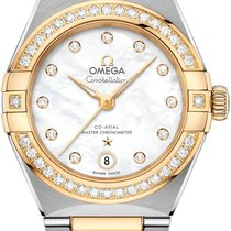 Omega Gold/Steel 29mm Automatic 131.25.29.20.55.002 new