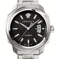 Versace Steel 42mm Automatic VAG020016 new