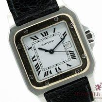 Cartier Gold/Stahl 29mm Automatik Cartier Santos gebraucht Deutschland, München