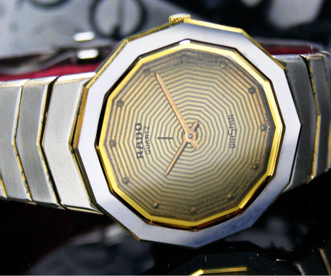 Rado Diastar Quartz Rare Dial Steel Unisex Beautiful Watch