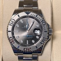 Rolex Yacht-Master 40 pre-owned 40mm Blue Date Steel