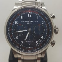 Baume & Mercier Steel 44mm Automatic MOA10066 pre-owned