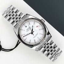 Rolex pre-owned Automatic 36mm White Sapphire Glass