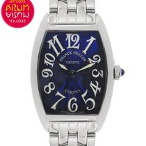 Franck Muller Reloj de dama Cintrée Curvex 24mm Cuarzo usados Reloj con estuche original