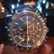 欧米茄 Speedmaster Professional Moonwatch 碳 44.25mm 黑色 无数字