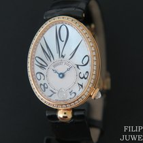 Breguet Reine de Naples Yellow gold 36.5mm Mother of pearl