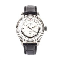 Ball Trainmaster Worldtime Acero 41mm Blanco