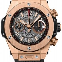 Hublot Big Bang Unico new Automatic Chronograph Watch with original box and original papers 411.OX.1180.RX