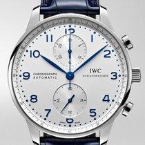 IWC IW371446 Acier 2020 Portuguese Chronograph 41mm nouveau