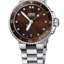 Oris Aquis Date 01 733 7652 4192-07 8 18 01P new