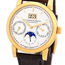 """A. Lange & Söhne Gent's 18K Rose Gold  """"Saxonia Annual..."""
