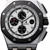Audemars Piguet Royal Oak Offshore Stainless Steel Silvered...