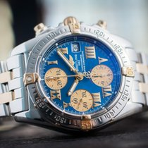 Breitling Chrono Galactic Steel/18k Gold