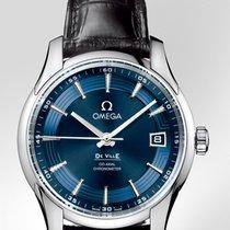 Omega De Ville Co-Axial nuevo 2015 Automático Reloj con estuche y documentos originales 431.13.41.21.03.001