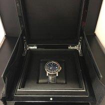 Girard Perregaux Sea Hawk Steel-Gold on Leather Strap with...