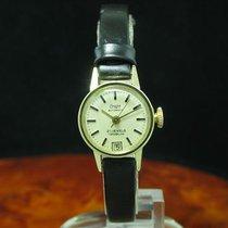 Condor 75 14kt 585 Gold Automatic Damenuhr Mit Datum / Kaliber...