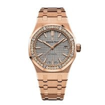 Audemars Piguet 15451OR.ZZ.1256OR.02 Roségold 2019 Royal Oak Lady 37mm neu