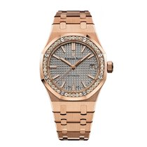 Audemars Piguet Royal Oak Automatic Rose Gold with Diamonds...