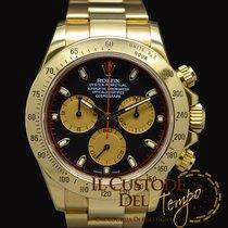 Rolex Daytona 116528 Full Gold Newman dial