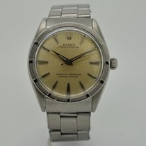 Rolex Oyster Perpetual 34 Steel 34mm Silver (solid) No numerals United States of America, Florida, Miami