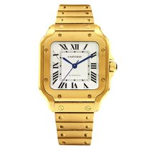 Cartier new Automatic 35.1mm Yellow gold