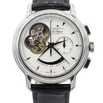 Zenith Chronomaster T Open Mens 40mm Automatic Watch 03.0240.4...