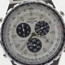 Breitling Navitimer Jupiter Pilot Herren Uhr Stahl A59028 43mm...