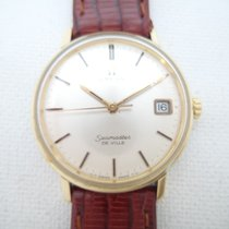 Omega Seamaster DeVille rare caliber 613 quickset manual wind...