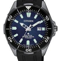 Citizen Titan 44mm BN0205-10L CITIZEN PROMASTER DIVER'S ECO DRIVE Blu Nero nov