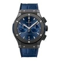 Hublot Classic Fusion Blue Ceramic 45mm Blue No numerals United States of America, New York, New York
