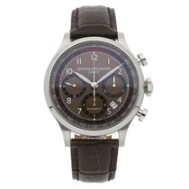 Baume & Mercier Chronograph 42mm Automatic pre-owned Capeland Brown