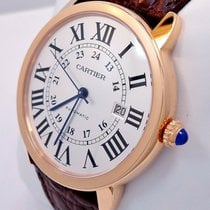 Cartier Ronde Solo de Cartier Oro rosa 42mm Blanco Romanos