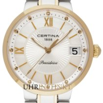 Certina DS Stella Gold/Steel 31,60mm Mother of pearl