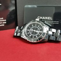 Chanel pre-owned Automatic 38mm Black Sapphire Glass 20 ATM