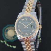 Rolex Datejust VI Diamonds Gold/Steel 178343 NEW