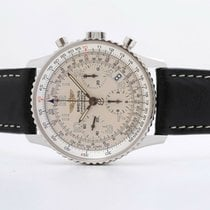 Breitling Navitimer Steel 41mm Silver No numerals United Kingdom, Oxford