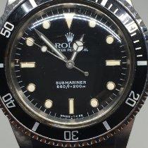 Rolex Submariner (No Date) Acier 40mm Noir Sans chiffres France, rhone alpes