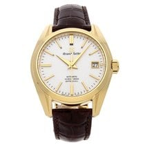 Seiko Grand Seiko Yellow gold 39.5mm Silver No numerals United States of America, Pennsylvania, Bala Cynwyd