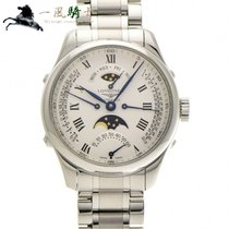 Longines Steel Automatic Silver 41mm pre-owned Master Collection