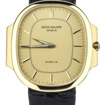 Patek Philippe Yellow gold Quartz Gold 41mm pre-owned Nautilus